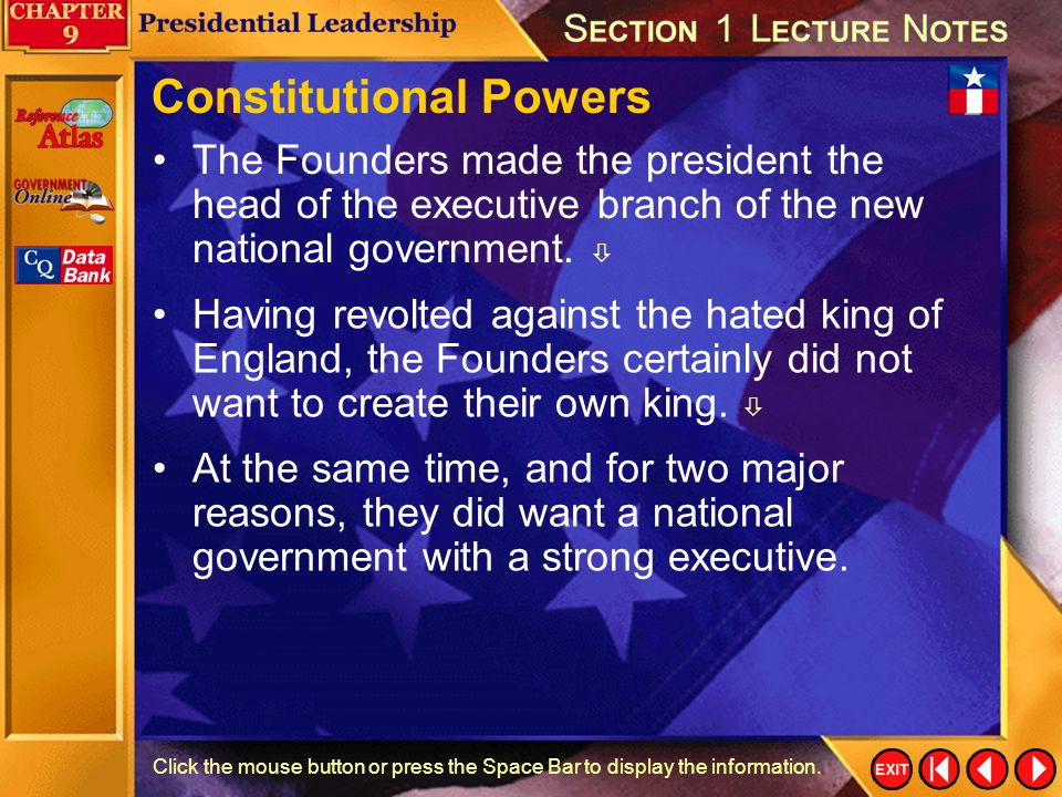 Constitutional Powers