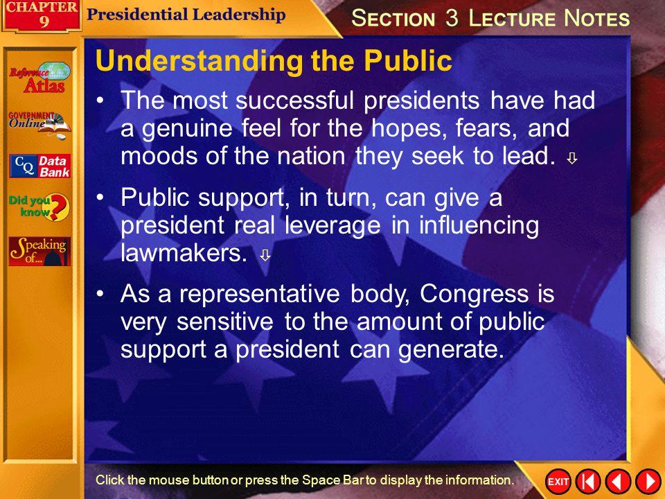 Understanding the Public