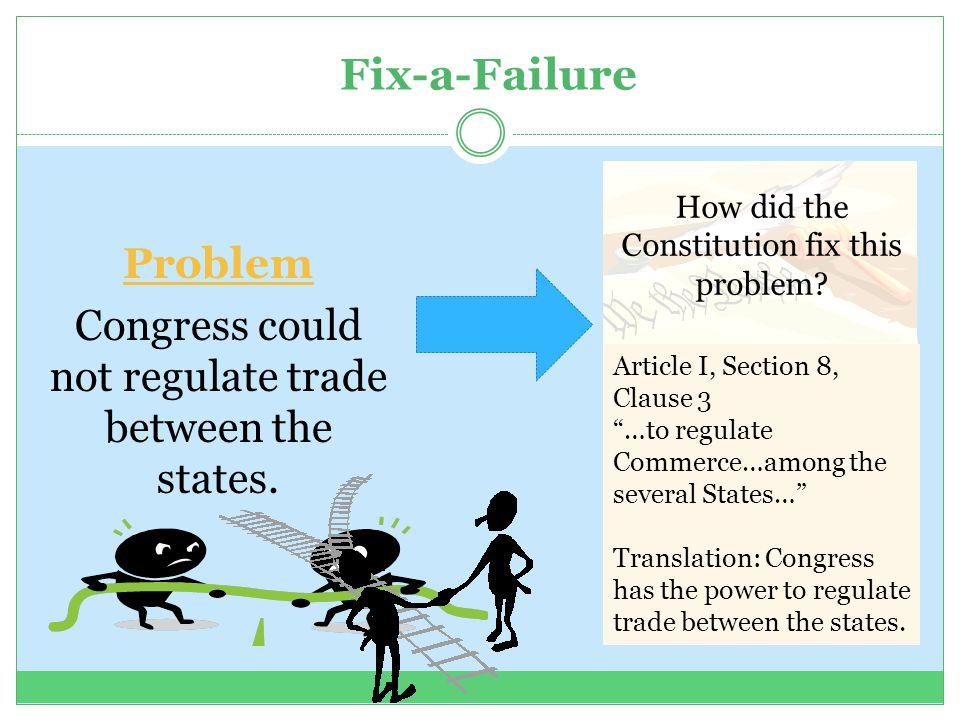 Fix-a-Failure Problem