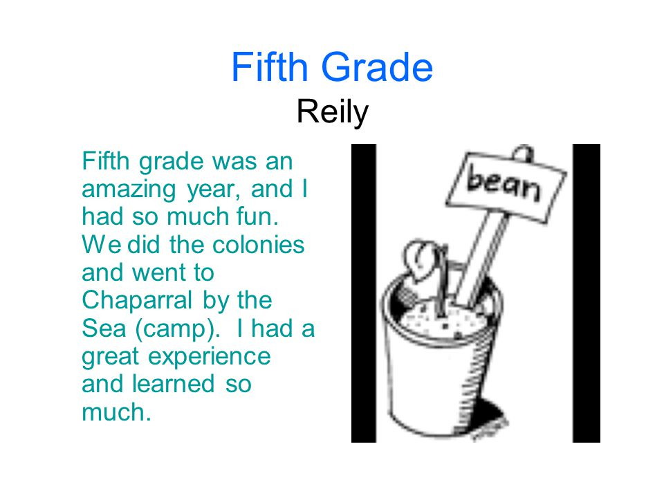 Fifth Grade Reily