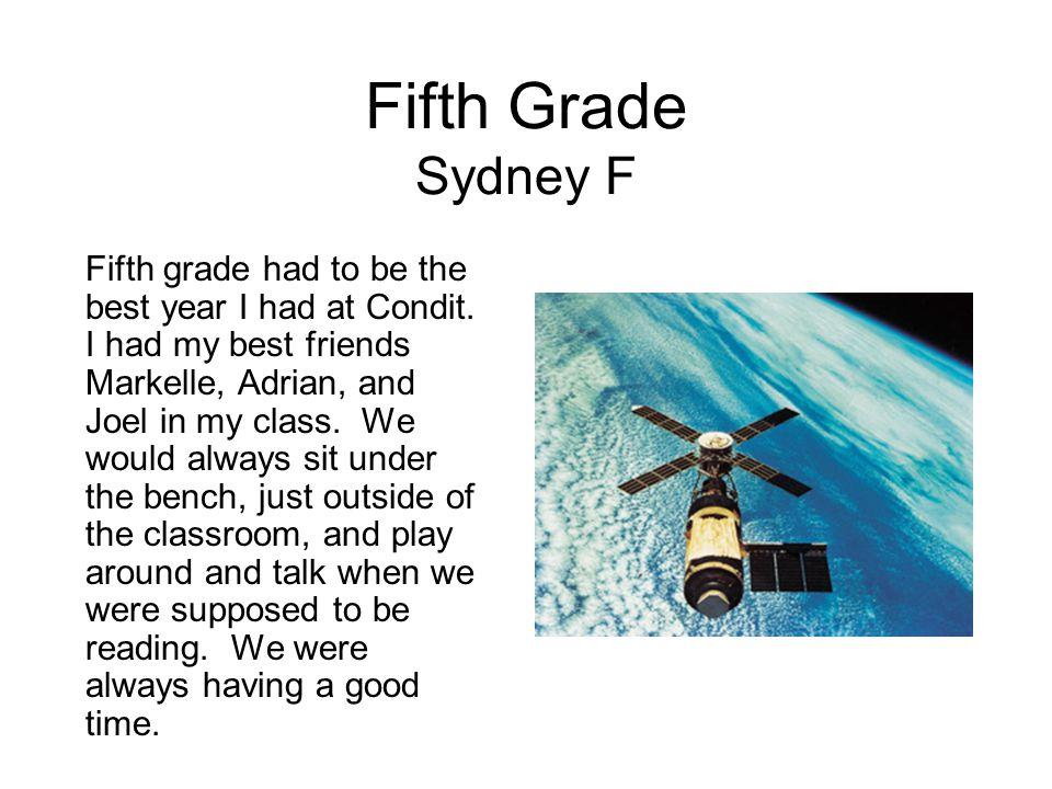 Fifth Grade Sydney F