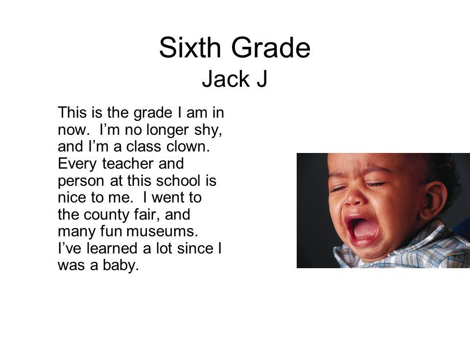 Sixth Grade Jack J