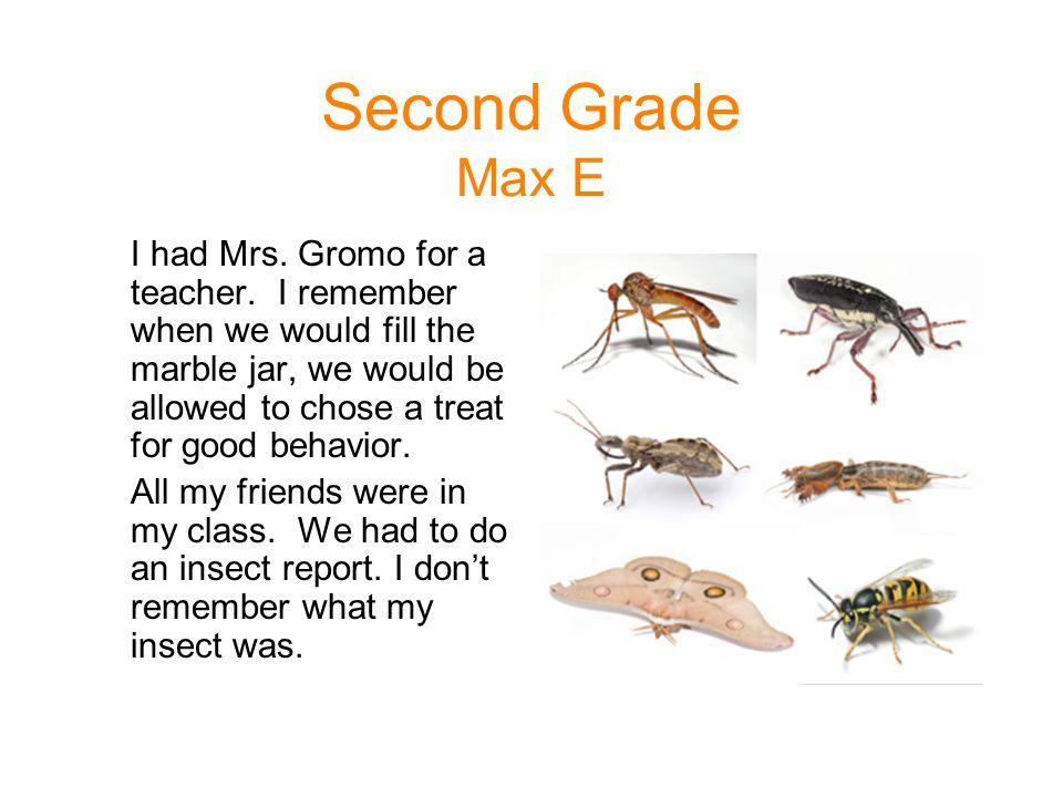 Second Grade Max E