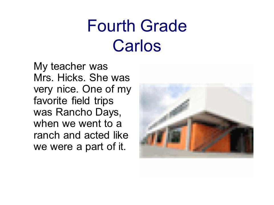 Fourth Grade Carlos