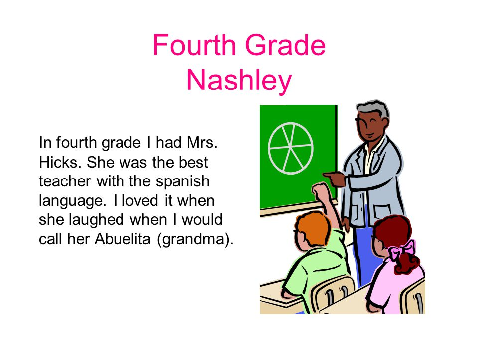 Fourth Grade Nashley