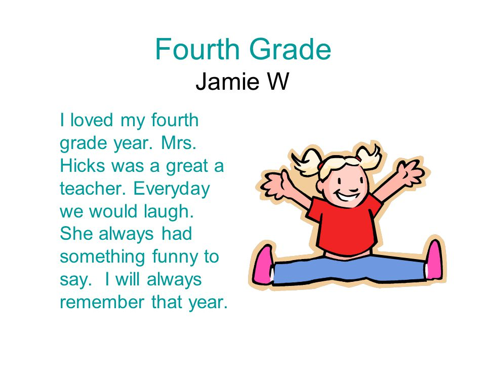 Fourth Grade Jamie W