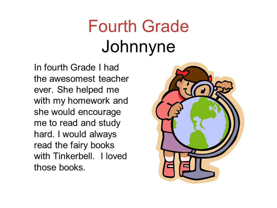 Fourth Grade Johnnyne