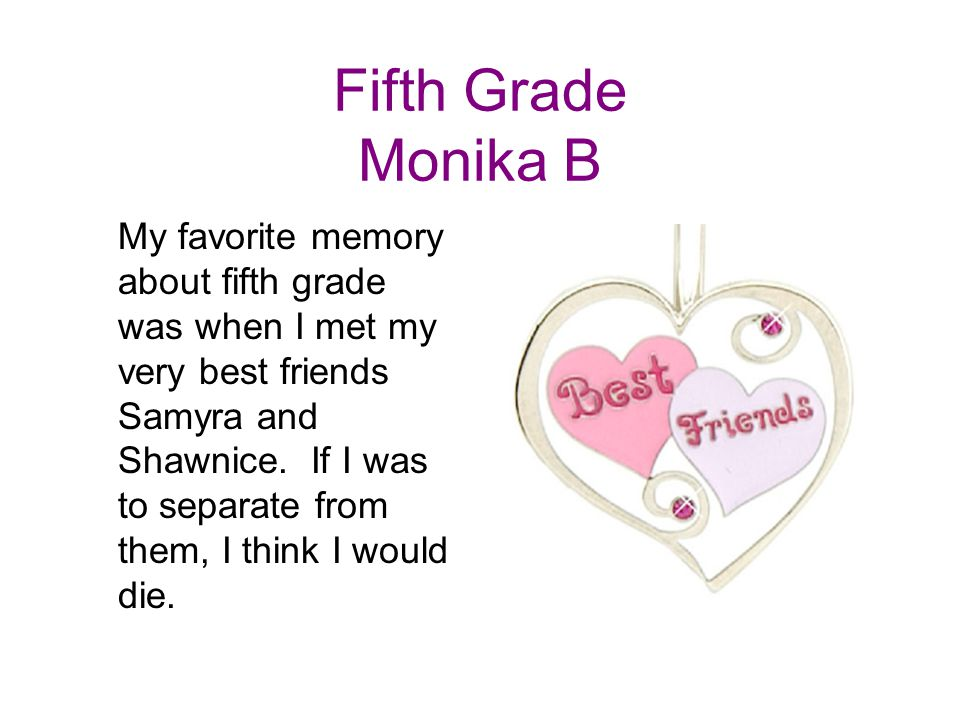 Fifth Grade Monika B
