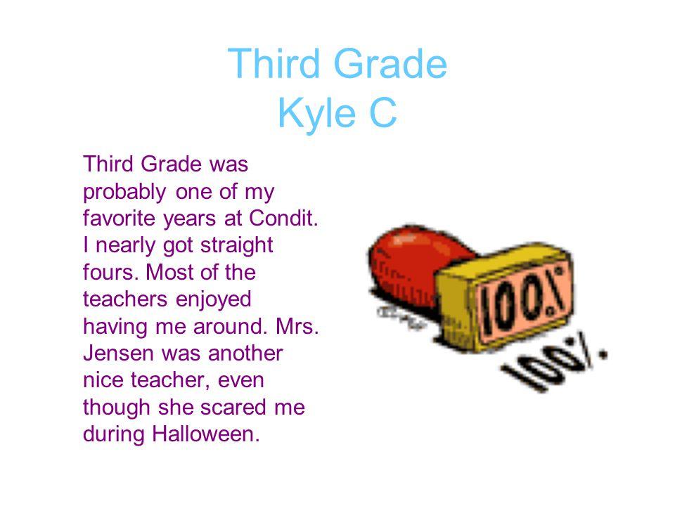 Third Grade Kyle C