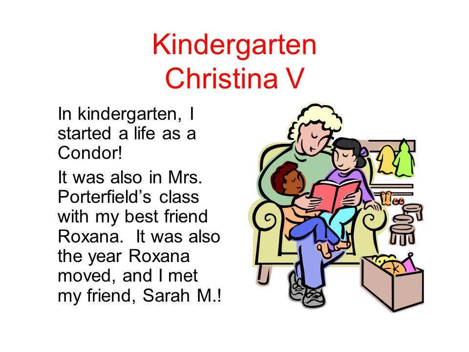 Kindergarten Christina V
