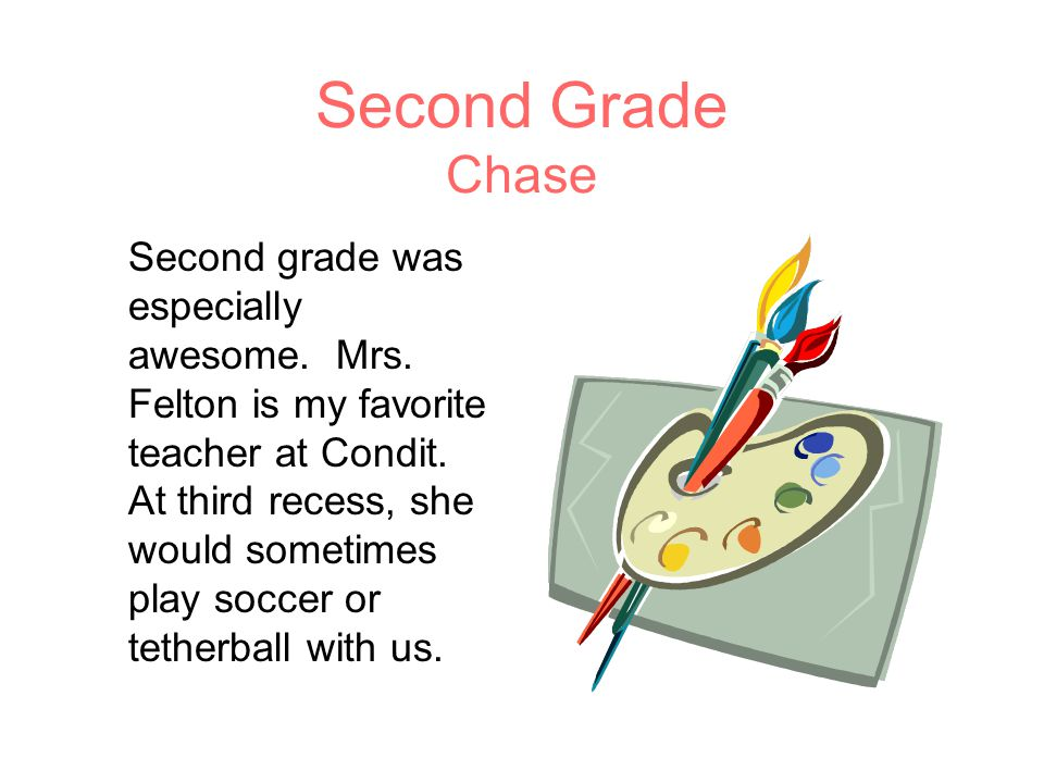 Second Grade Chase