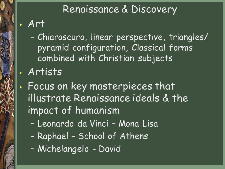 Renaissance & Discovery