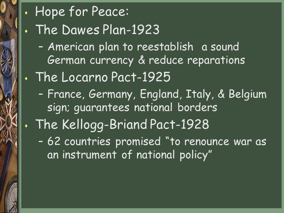 The Kellogg-Briand Pact-1928
