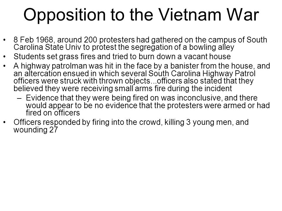 Opposition to the Vietnam War
