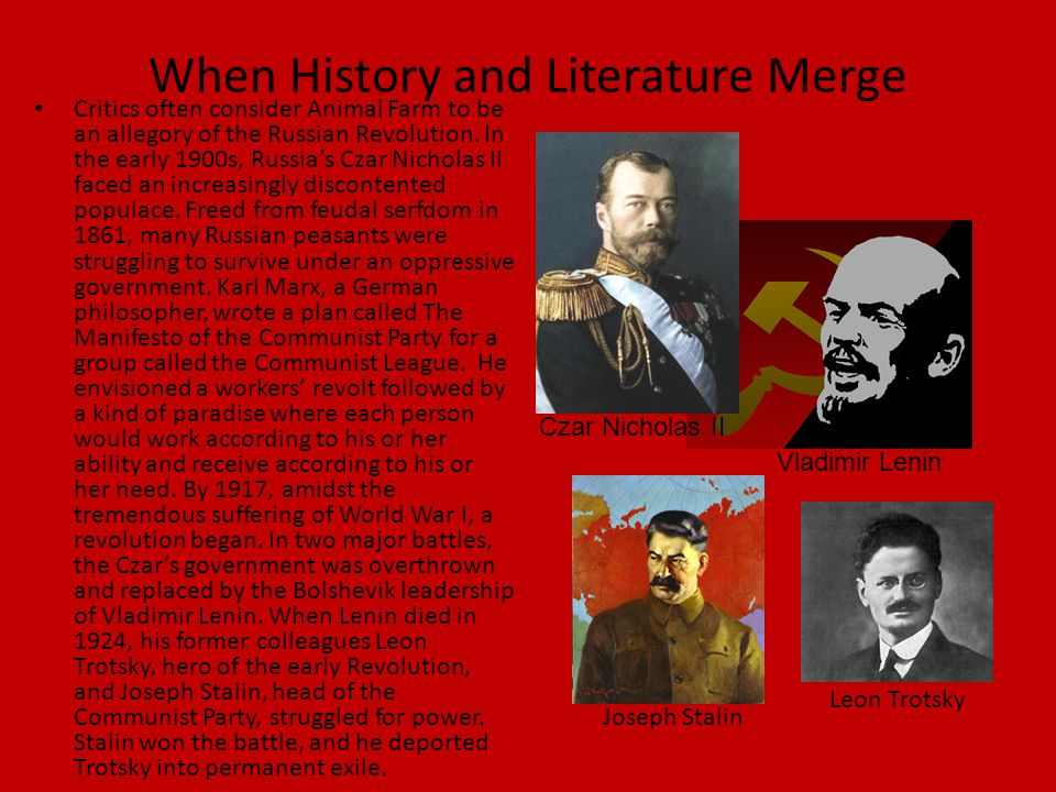 When History and Literature Merge