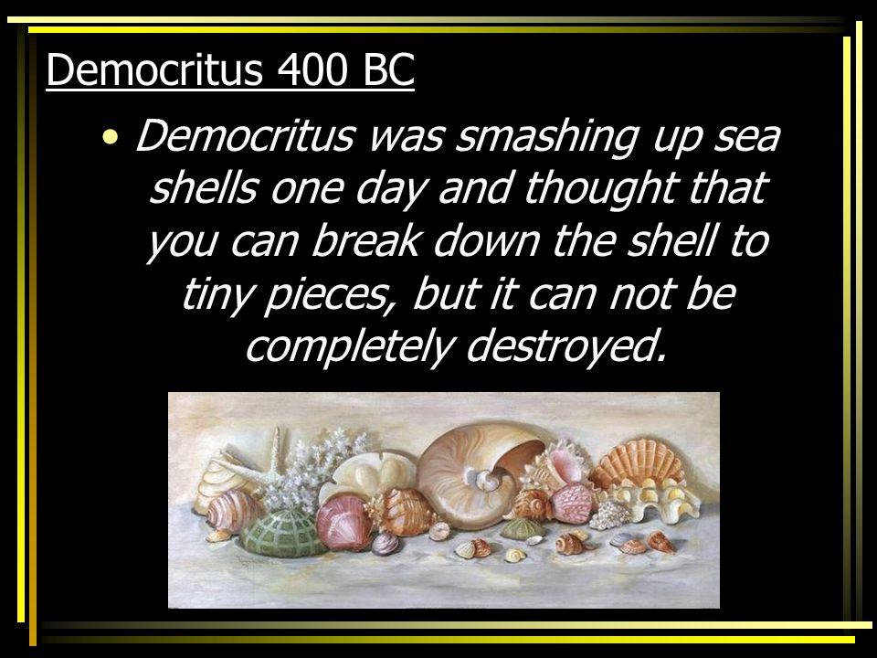 Democritus 400 BC