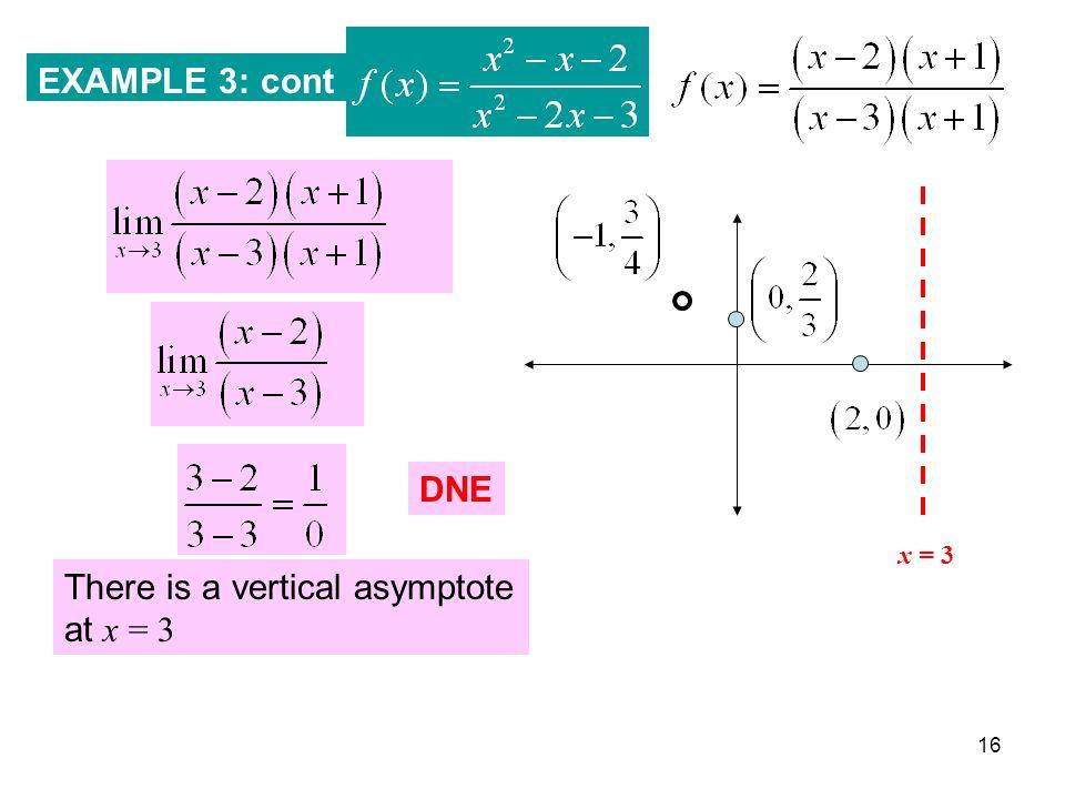 Unit 6 Lesson #2 Asymptotes
