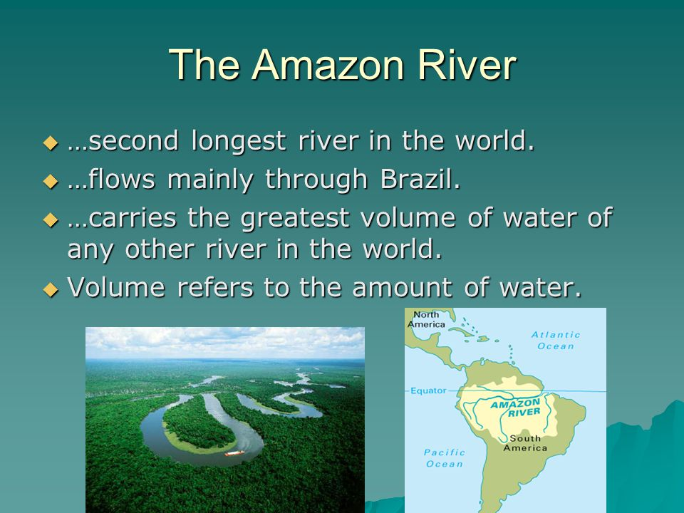 Latin America And The Caribbean Ppt Video Online Download - 3 longest rivers in the world
