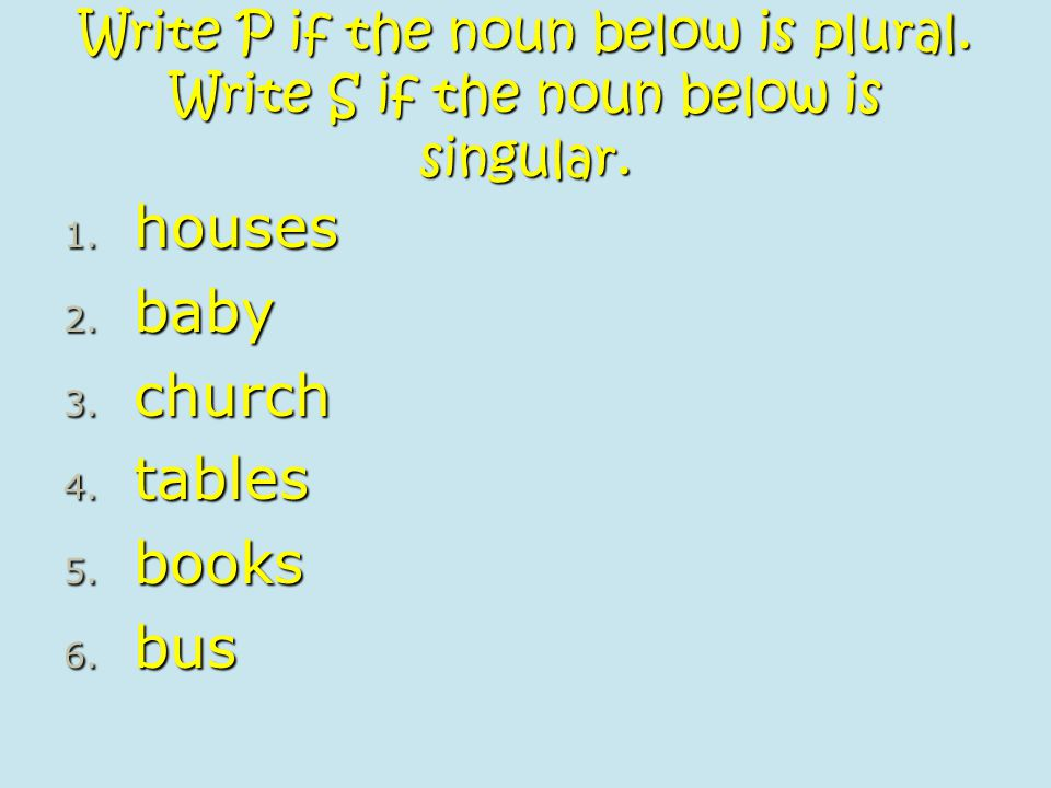 houses baby church tables books bus