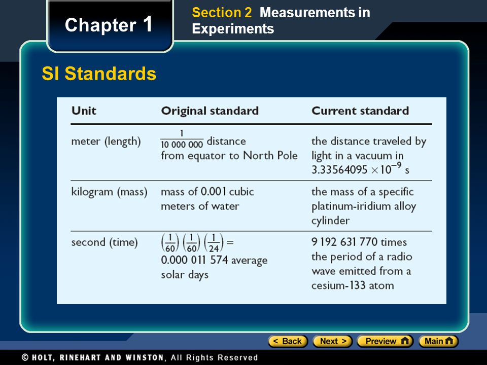 Section 2 Measurements in Experiments