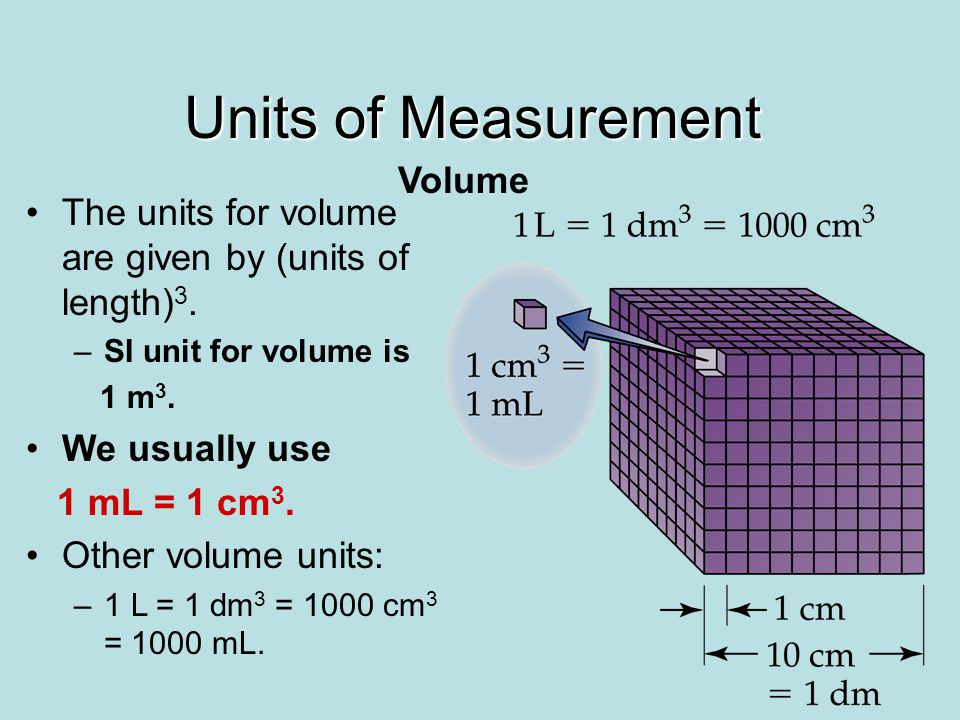 measurement of length mass volume and Presentation of units of measurement and the  the metre is the length of the path travelled by light in vacuum  dynamic volume : v: m 3: mass flow.