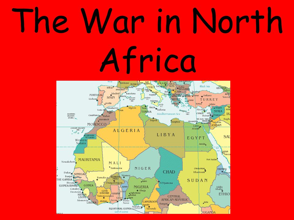 The War in North Africa