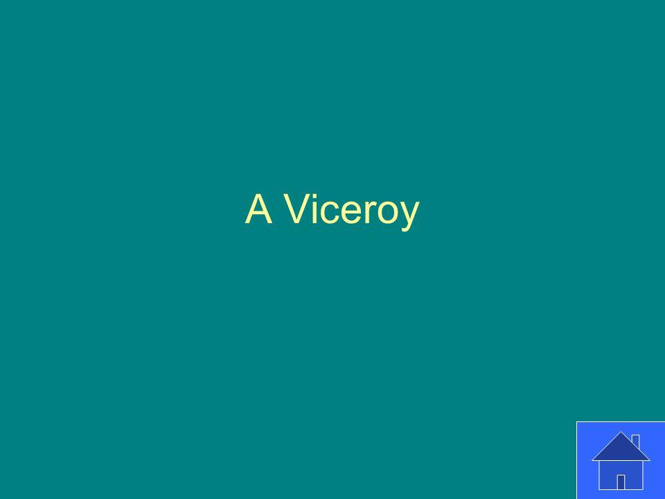 A Viceroy