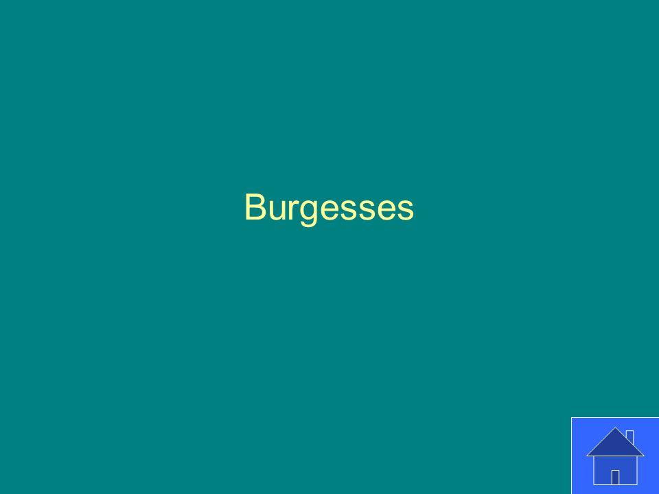 Burgesses