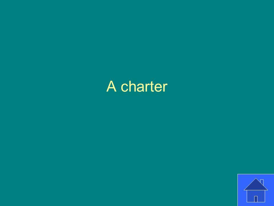 A charter