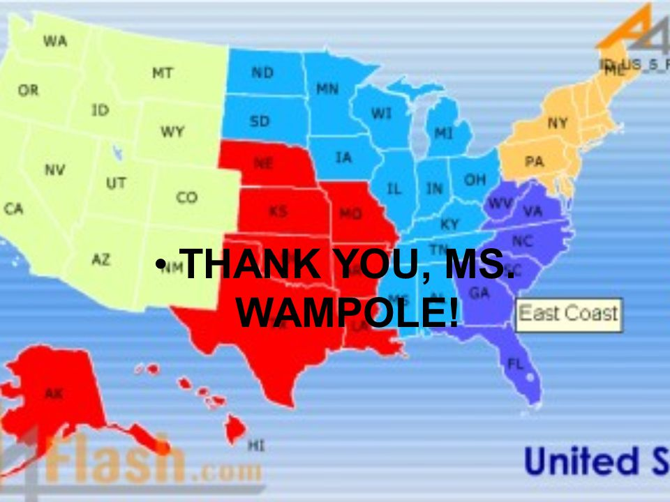 THANK YOU, MS. WAMPOLE!