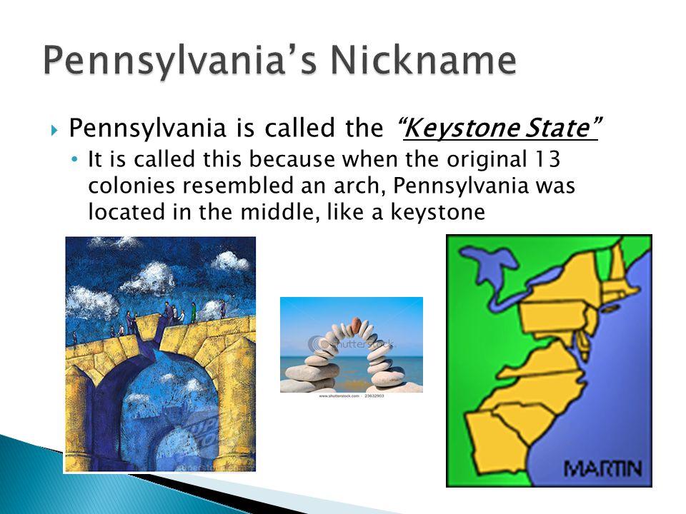 Pennsylvania's Nickname