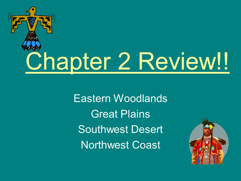 Eastern Woodlands Great Plains Southwest Desert Northwest Coast