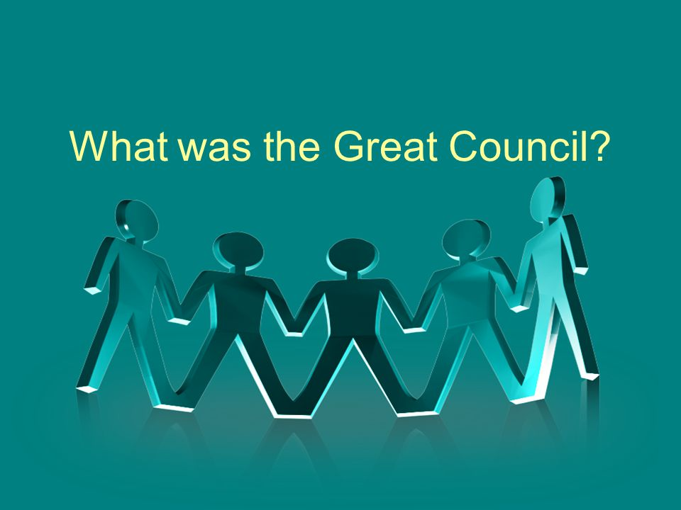 What was the Great Council