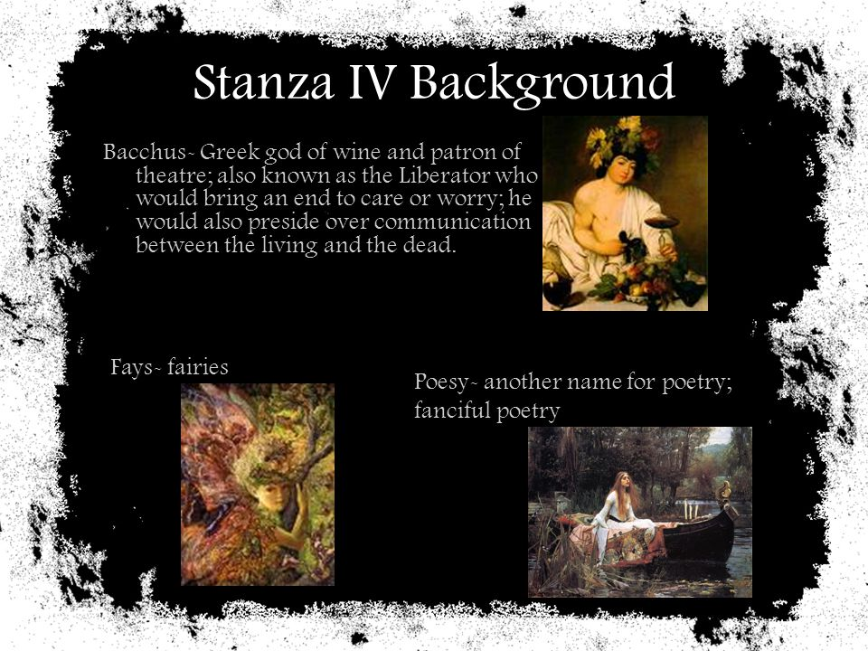 Stanza IV Background