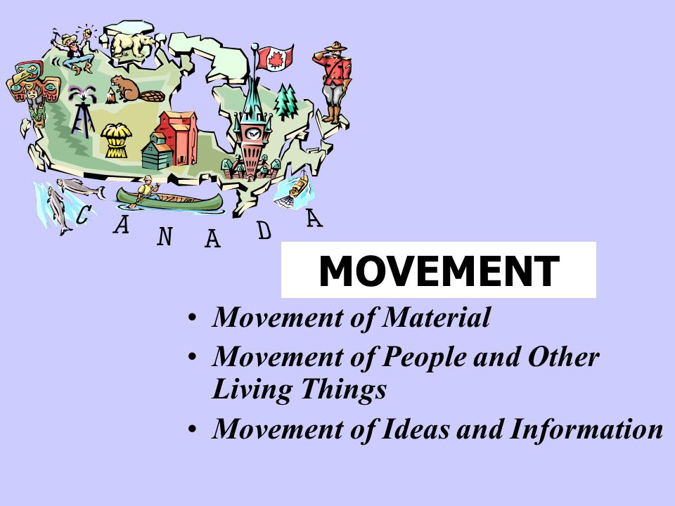 MOVEMENT Movement of Material