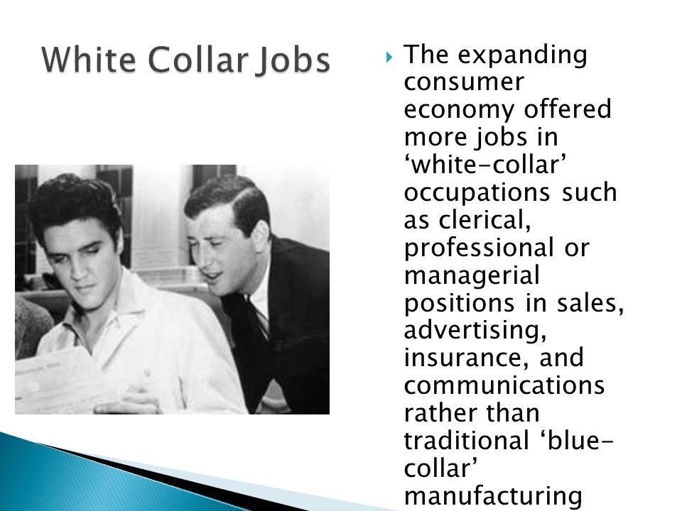 White Collar Jobs