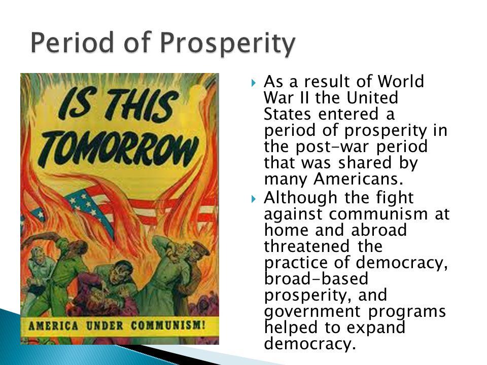 Period of Prosperity