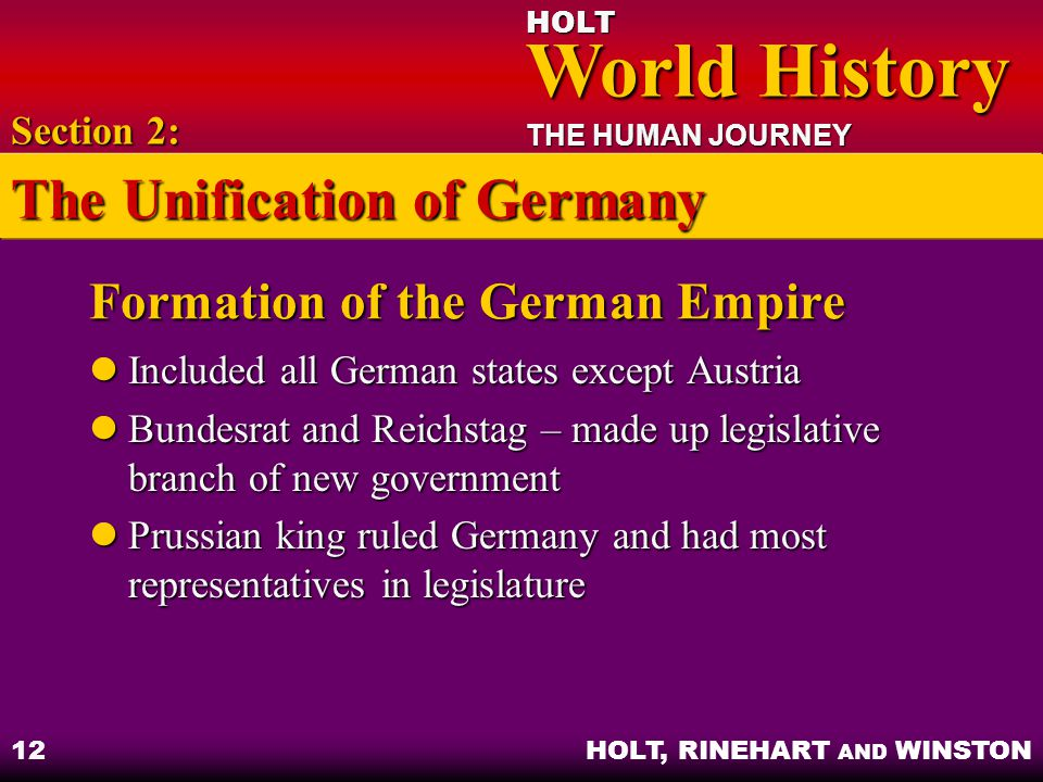 Formation of the German Empire
