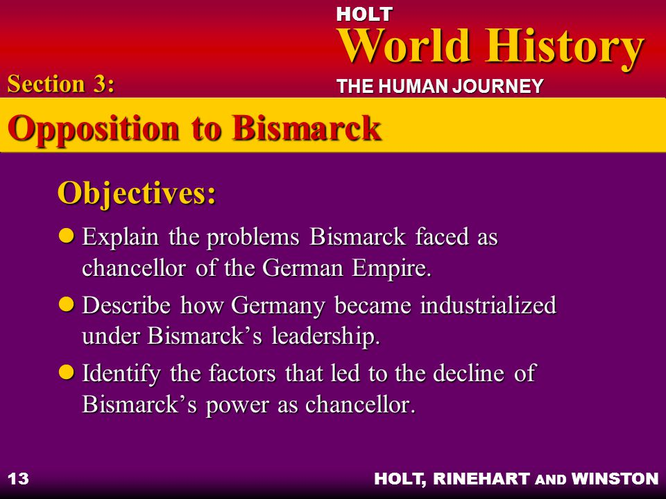 Opposition to Bismarck