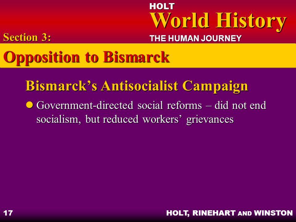 Bismarck's Antisocialist Campaign
