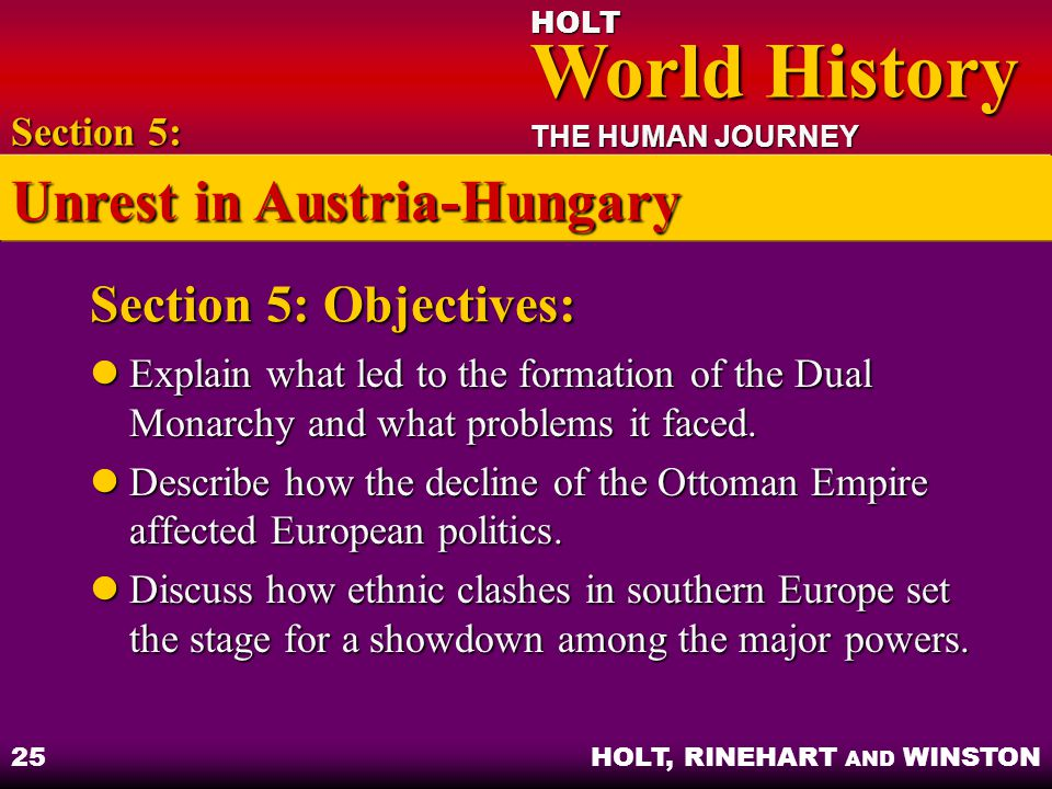 Unrest in Austria-Hungary