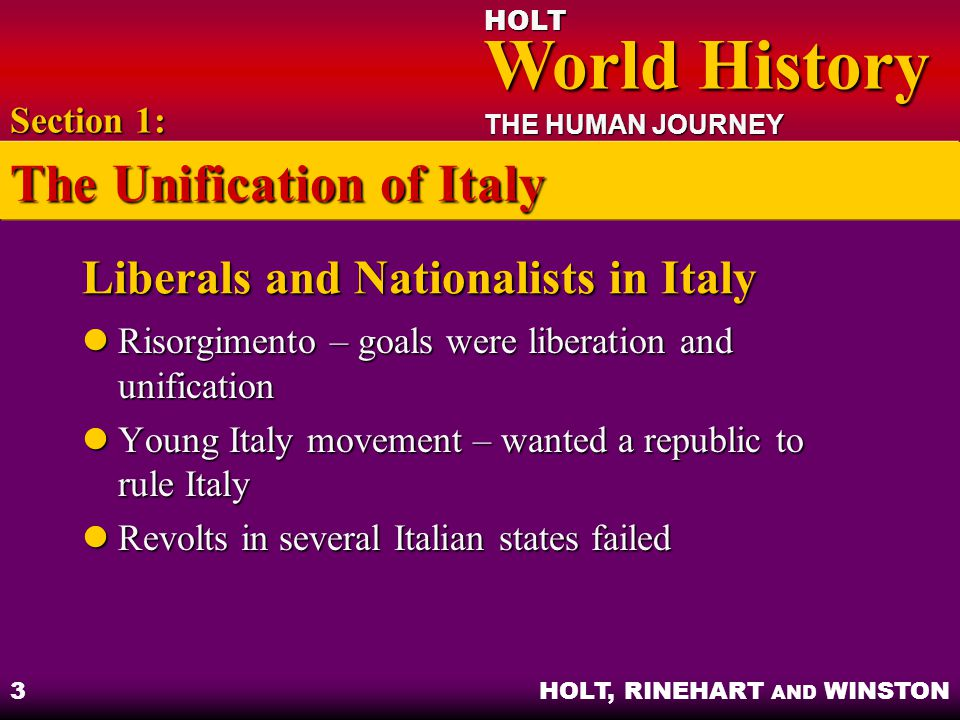 Liberals and Nationalists in Italy