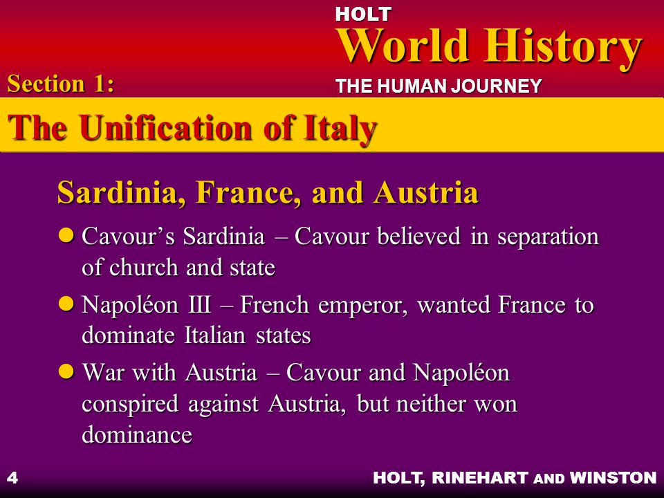 Sardinia, France, and Austria