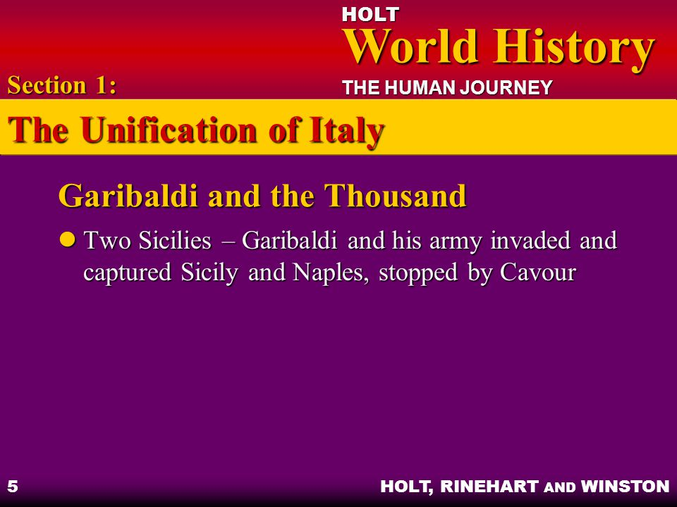 Garibaldi and the Thousand