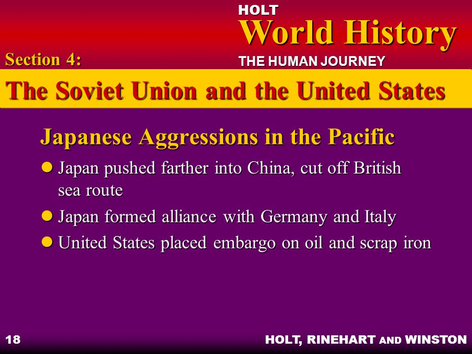 Japanese Aggressions in the Pacific