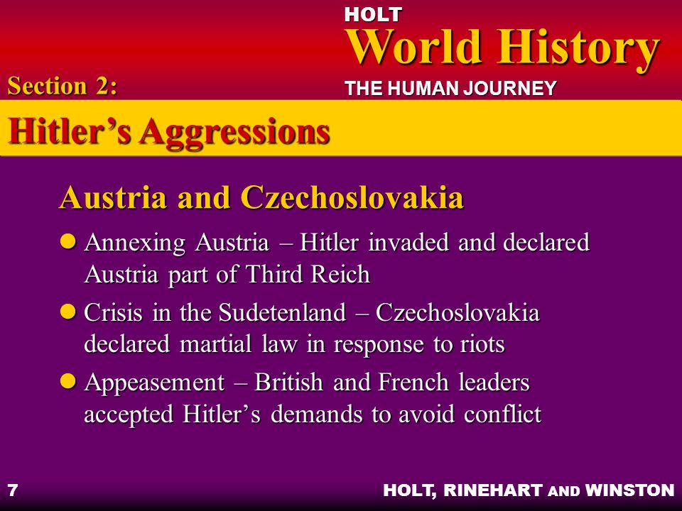 Austria and Czechoslovakia