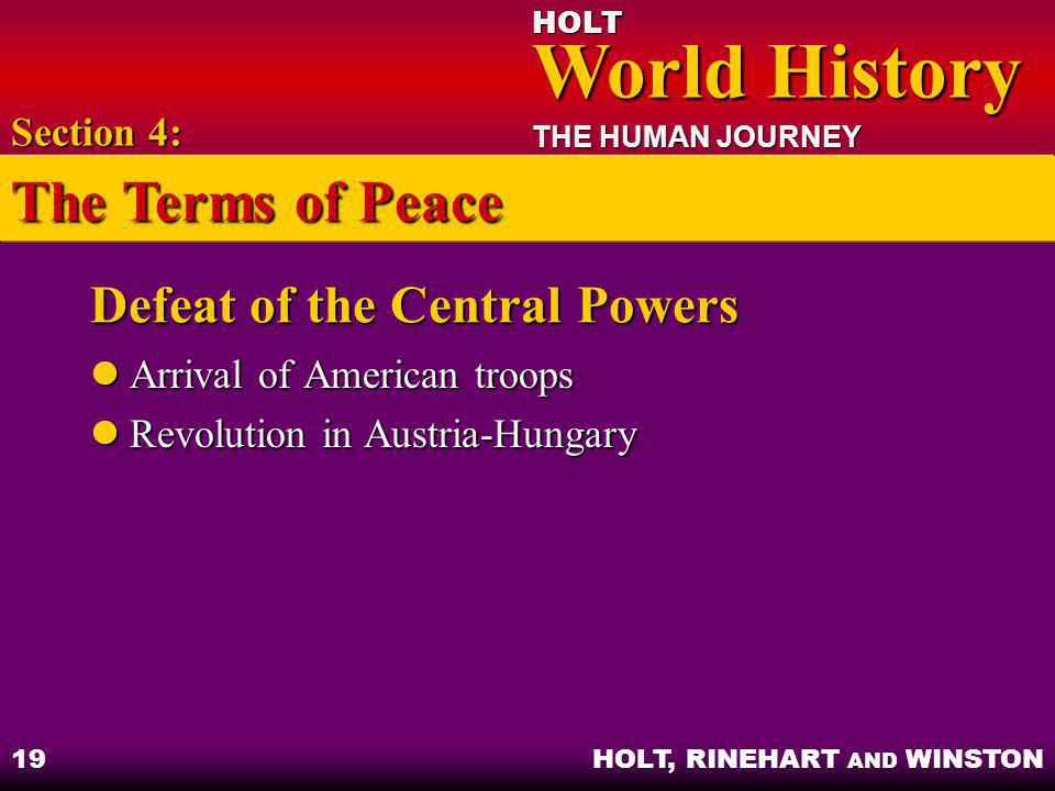 Defeat of the Central Powers