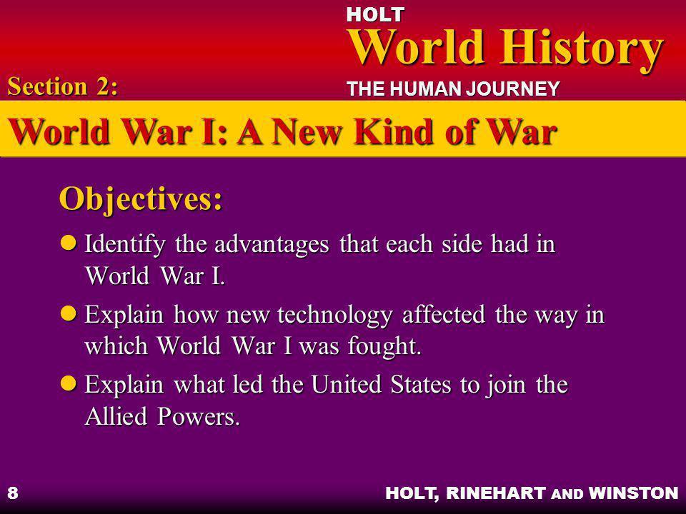 World War I: A New Kind of War