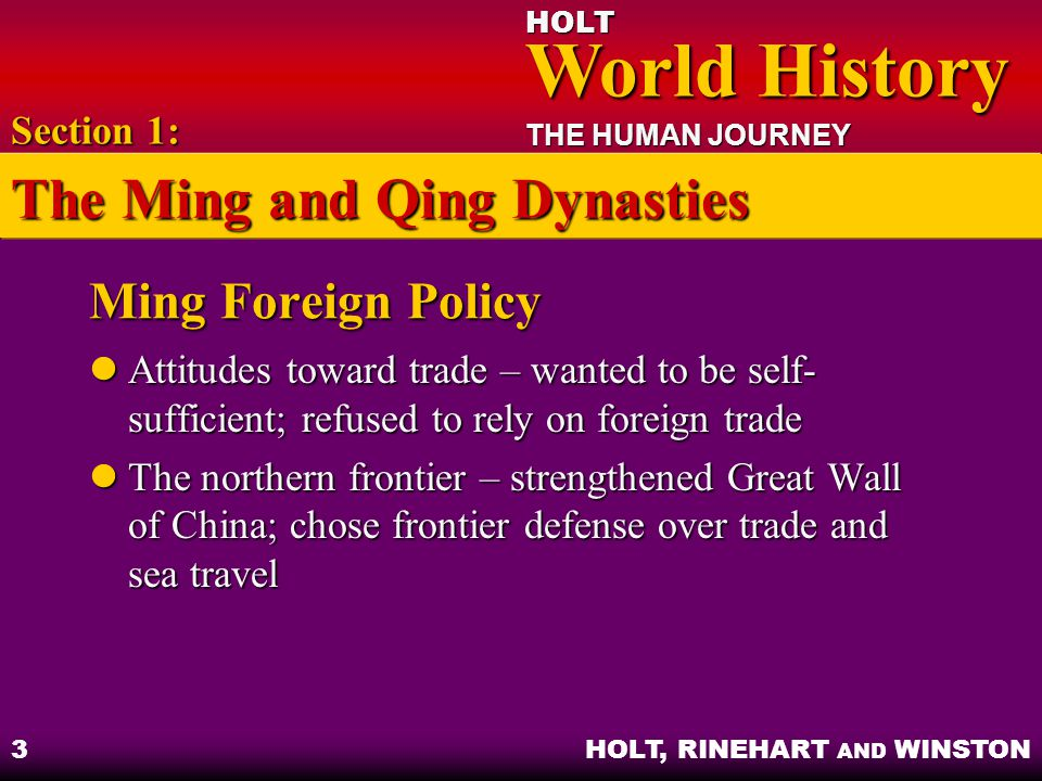 Ming and qing essay