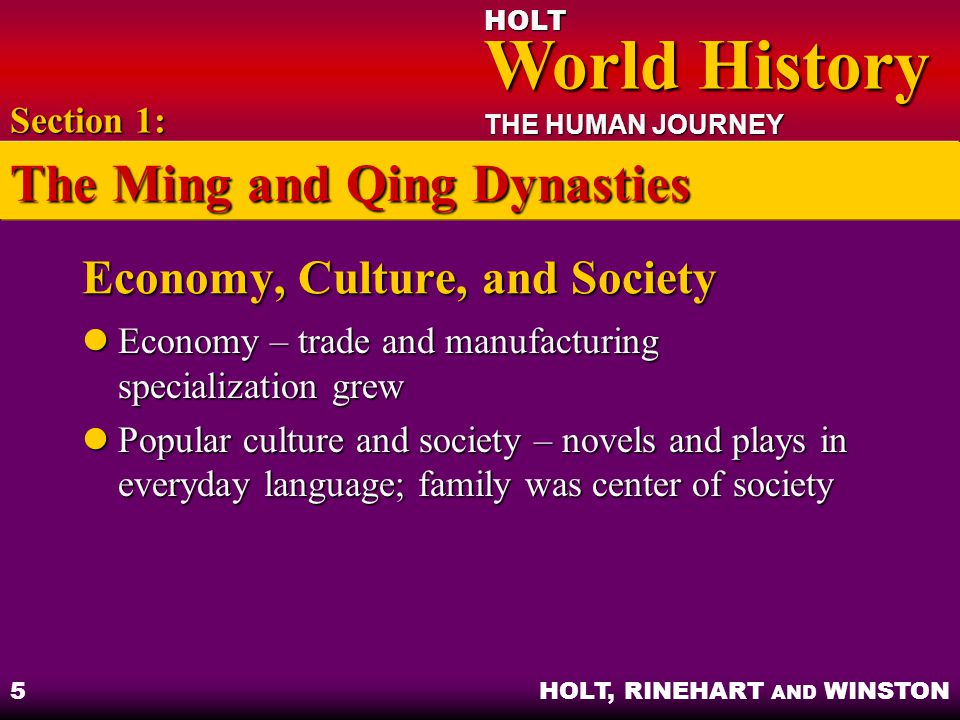 Economy, Culture, and Society